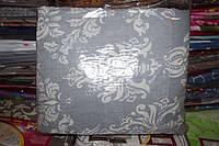 Комплект двуспального постельного белья жатка Тирасполь серое