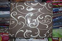 Комплект двуспального постельного белья жатка Тирасполь коричневое