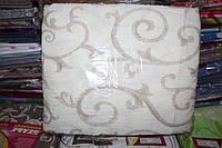 Комплект двуспального постельного белья жатка Тирасполь молочное