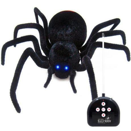 Радіокерований павук на пульті управління Чорна вдова Black Widow 779