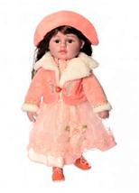 """Кукла мягконабивная M 3863 UA """"Панночка"""" в зеленом платье, фото 2"""