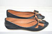 Балетки женские Mariposa 229-2001-201 чёрные кожа, фото 1