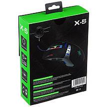 Геймерская игровая мышка Keywin X-5 с подсветкой   Компьютерная проводная мышка, фото 3