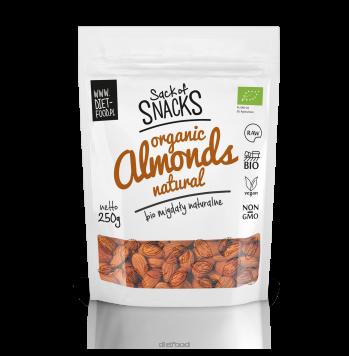 Органический миндаль - цельный 200г - Diet Food - almonds natural