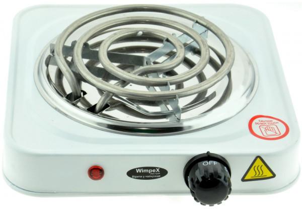Электроплита настольная WimpeX WX-100B | Плита спиральная 1 конфорка