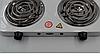 Электроплита настольная WimpeX WX-200B   Двухконфорочная спиральная плита, фото 2