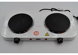 Электроплита настольная WimpeX WX-200А | Двухконфорочная дисковая плита, фото 2