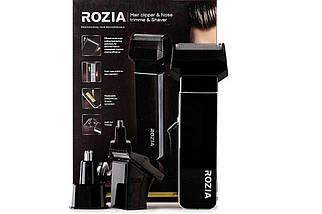 Машинка для стрижки волос ROZIA HQ-5200   Черная, фото 2