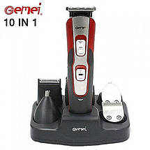 Триммер для стрижки волос Gemei GM-592 10 в 1, фото 2