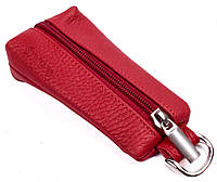 Кожаная женская ключница Valenta Красная XK3883h, КОД: 390873