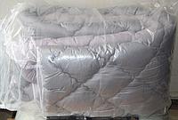 Двуспальное одеяло из холлофайбера ODA серое