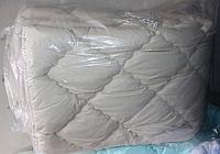 Двуспальное одеяло из холлофайбера ODA светло-серое