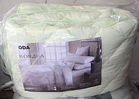 Двуспальное одеяло из холлофайбера ODA мятное