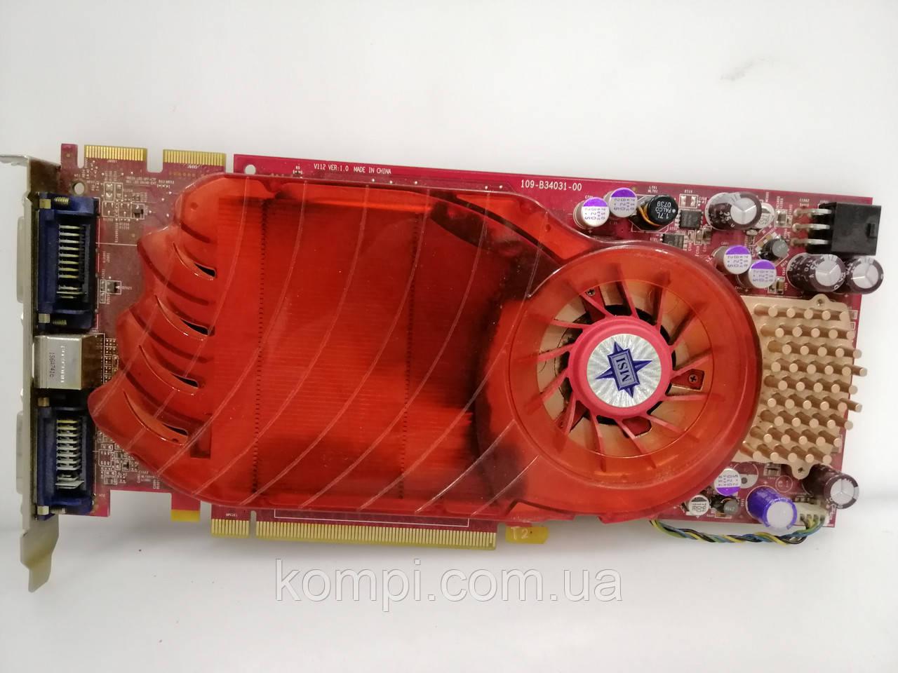 Видеокарта ATI Radeon HD 3850 512mb 256bit PCI-e