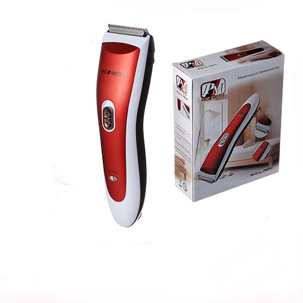 Триммер для стрижки волос PROMOTEC PM-352 с насадками | Профессиональная машинка для стрижки волос