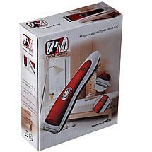 Триммер для стрижки волос PROMOTEC PM-352 с насадками | Профессиональная машинка для стрижки волос, фото 2
