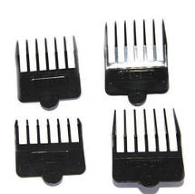 Триммер для стрижки волос PROMOTEC PM-356 с насадками   Профессиональная машинка для стрижки волос, фото 3