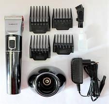 Триммер для стрижки волосся PROMOTEC PM-362 з насадками   Професійна машинка для стрижки волосся, фото 2