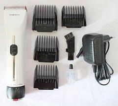 Триммер для стрижки волос PROMOTEC PM-363 с насадками | Профессиональная машинка для стрижки волос, фото 2