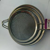 Набір сіток для чаю 12см+14см+16см Benson BN-272   Сіточка для чаю, фото 2