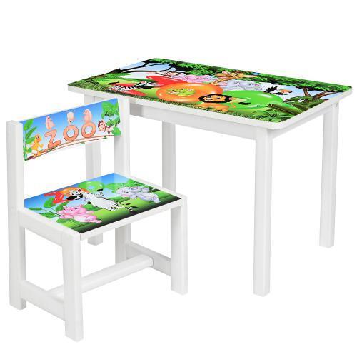 """Детский стол со стульчиком """"Зоопарк"""" BSM1-33"""