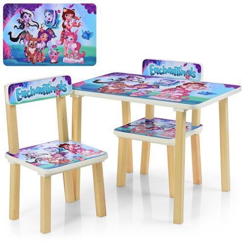 Детский столик со стульчиками Enchantimals 507-25
