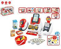 Кассовый аппарат, свет, звук, сканер, деньги, продукты, 668-48