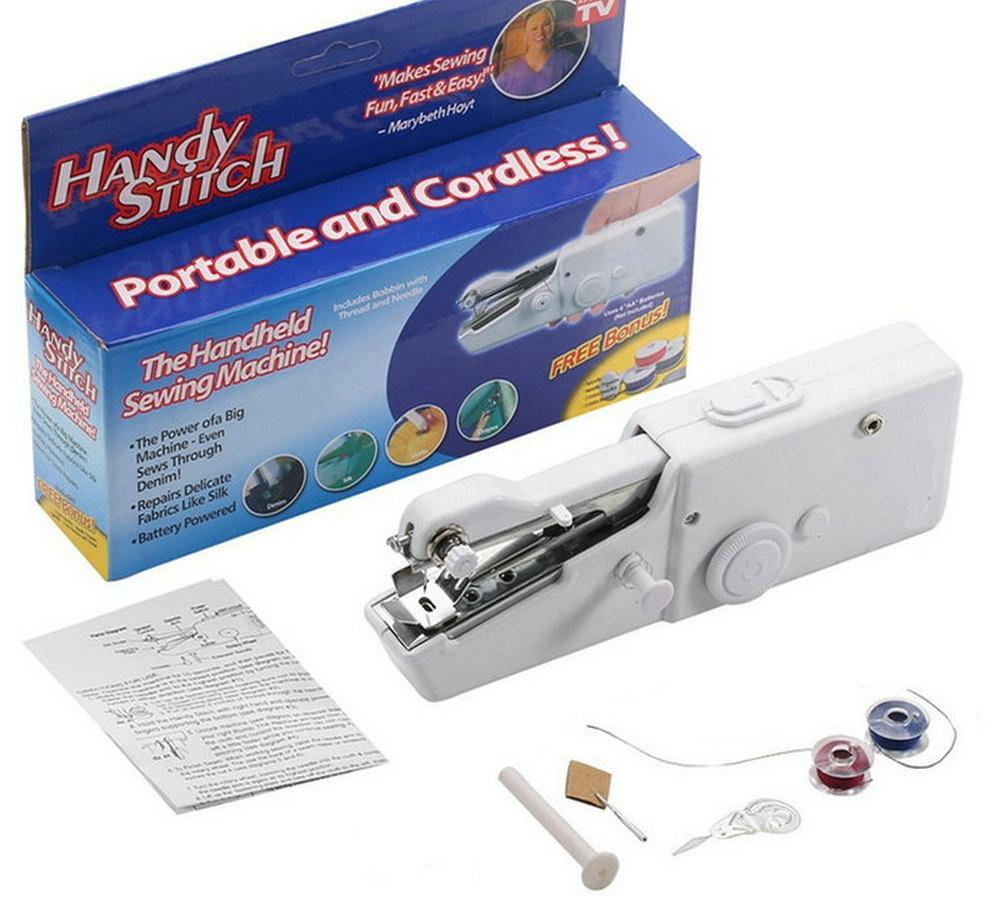 Ручная швейка handy stich,портативная швейная машинка