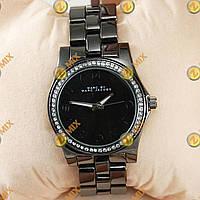 Часы Marc Jacobs Baker Bracelet Silver Diamonds