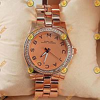 Часы Marc Jacobs Henry Pink Gold Diamonds Extra