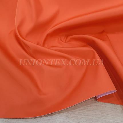 Плащевка на основе интерлоке президент оранжевый, фото 2