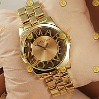 Часы Marc Jacobs Henry Skeleton Gold