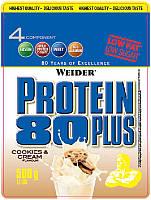 Протеин комплексный WEIDER Protein 80+ 500 g Cookies&Cream