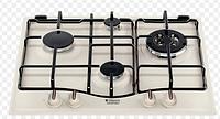 Варочная поверхность Hotpoint-Ariston PС 640 T OW GH R (газовая , 59 см, 4 конф.)