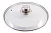 Кришка із загартованого скла Benson BN-1003 20 см | Скляна кришка на каструлю, фото 2