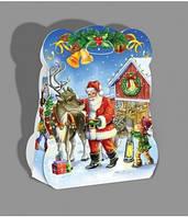 Новогодняя коробка, Мышонок со звездой, Новогодняя упаковка для конфет, Днепр, фото 1