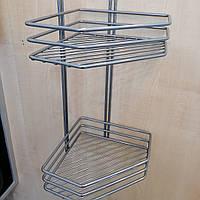 Полку сталь 2-ярусна, фото 1