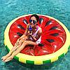 Пляжний надувний матрац - пліт Кавун, діаметр 143 см, фото 3