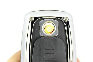 USB-зажигалка брелок AUDI хамелеон | Зажигалка c USB, фото 3