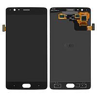 Дисплей OnePlus 3T A3010, черный, с сенсорным экраном, Original (PRC)