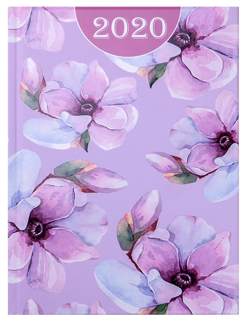 Ежедневник датированный 2020 Buromax Estilo A5,светло-розовый 336 стр. BM.2165-43