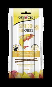 Колбаски для кошек с лососем и манго GimCat Superfood Duo-Sticks 3 шт.
