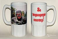 Сублимационная печать на чашках