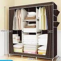 Многофункциональный шкаф-органайзер для вещей 130*45*170 см HCX-153NT