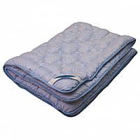 Одеяло Евро размера из овечьей шерсти ARDA Blue