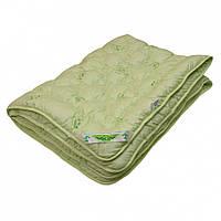 Бамбуковое зимнее двуспальное одеяло ARDA салатовое