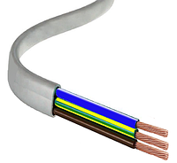 Провод (шнур) ШВВП 3х2.5 ЗЗЦМ Запорожский