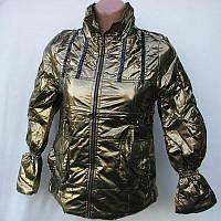 Куртка подростковая бронза и серебро