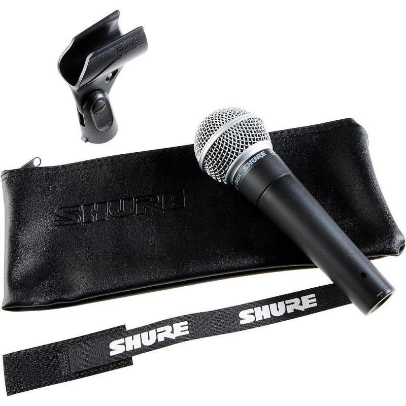 Вокальный беспроводной ручной микрофон SHURE SM58 SE с выключателем   Профессиональный динамический микрофон