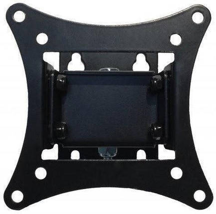 Настенное крепление кронштейн для телевизора TV КБ-811 | От 14 до 24 дюйма, 45 градусов, от стены: 65 мм, фото 2